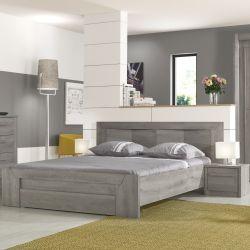 Schlafzimmer Hayden Hellgraue Eiche