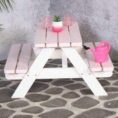 Kinderpicknicktisch Minnie - rosa