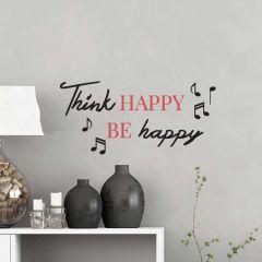 Wandaufkleber Denken Sie glücklich