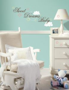 RoomMates Wandsticker - Sweet dreams baby