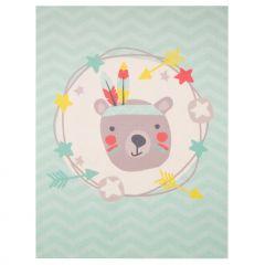 Teppich Feder Bär