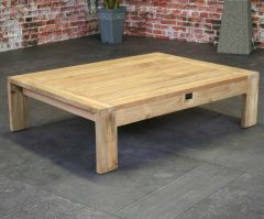 Davinci  teak coffee  table 110cm FSC Recycled