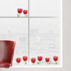 Fenstersticker Tulpen