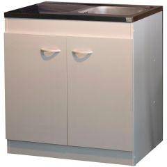 2-türiger Unterschrank für die Spüle (100 cm)