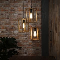 Hängeleuchte Mano 3 Lampen