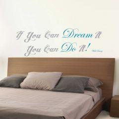 Wandaufkleber Dream & Do it