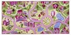 Teppich Sweet Town - 95x200cm