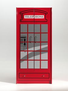 Kleiderschrank London 2 Türen