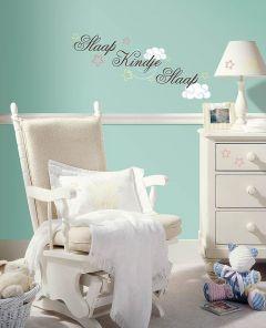 Wandsticker RoomMates - Schlaf Kindchen schlaf