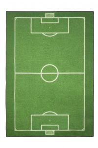 Teppich-Fußballplatz
