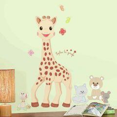 Wandsticker RoomMates - Sophie die Giraffe groß