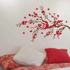 Wandaufkleber Rot Ranage - Groß