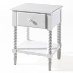 Nachttisch Alana - weiß
