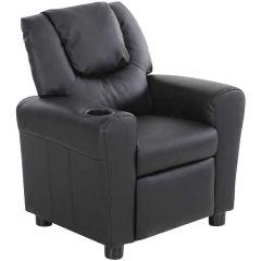 Relaxstuhl für Kinder Rex - schwarz