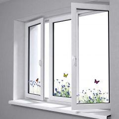 Fensteraufkleber Sprung