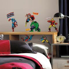 RoomMates Wandsticker - Marvel Classic