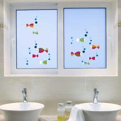 Fensteraufkleber Lustige Fische
