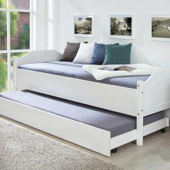 Bettkasten 190cm für Betten Interlink - weiß