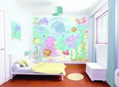 Wandbild Unterwasser-Babies