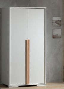 LONDEN 2DOOR WARDROBE WHITE