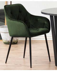 Brooke carver - forest green, matt black - set of 2