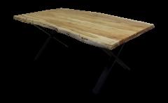 Esstisch SoHo - 240x100 cm - Akazie / Eisen