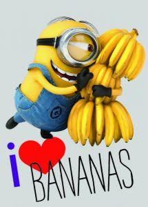 Teppich Minions Love Bananas