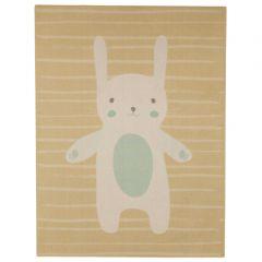 Teppich-Hase - beige