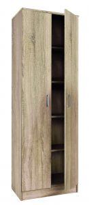 Schrank Ray 60cm mit 2 Türen und 4 Einlegeböden - sonoma Eiche