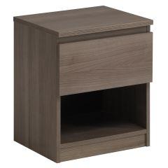 Nachttisch Neo 1 Schublade - Nussbaum
