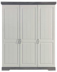 Kleiderschrank Yves - 3 Türen