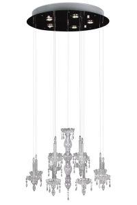Hängelampe Ghostly Candle Ø70cm - 5x50w GU10