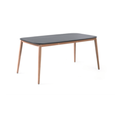 Gartentisch Helsinki 213x100 - schwarz