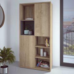 Bücherschrank Frame - helle Eiche