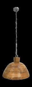 Hängelampe Holz - ø45 cm - natur