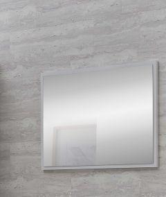 Bad Rügen - Wandspiegel - Korpus Weiß Melamin Dekor