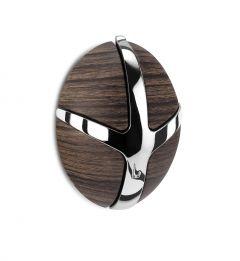 Garderobenständer Tick - Holzdekor dunkel