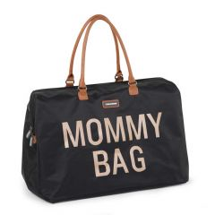 Mommy Bag Gross Schwarz/Gold