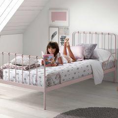 Bett Alice (90x200 cm) - rosa
