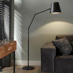 Stehlampe Biegung einstellbar - Charcoal