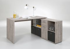 Schreibtisch Lex - graue Eiche