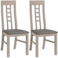 Set von 2 Stühle Malone