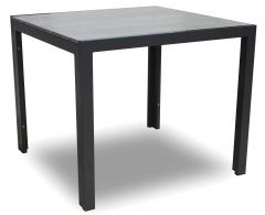 Gartentisch Jersey 90x90 - grau