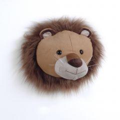 Plüschtier Kopf Löwe