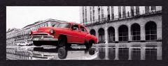 Leinwand Auto Kuba 52x150cm