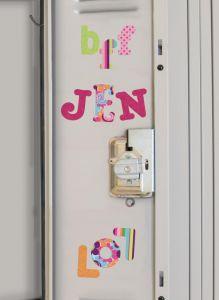 RoomMates Wandsticker - Boho Buchstaben