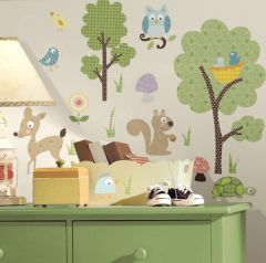 RoomMates Wandsticker - Waldtiere