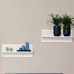 Wall shelf MONACO 755 - Wall shelf - WHITE WASH