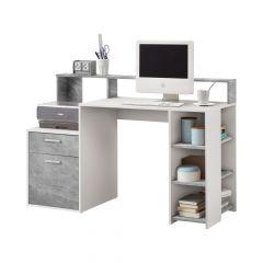 Büro Elton - Beton/Weiß