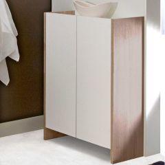 Badezimmerschrank Biarritz - weiß/Eiche